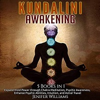 Front cover with text reading Kundalini Awakening 5 books in 1