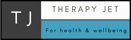 The Therapy Jet logo