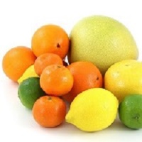 A selection of citrus fruits